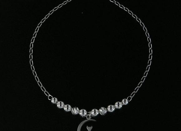 Cat in the moon bracelet