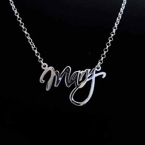 Name necklace | Mary