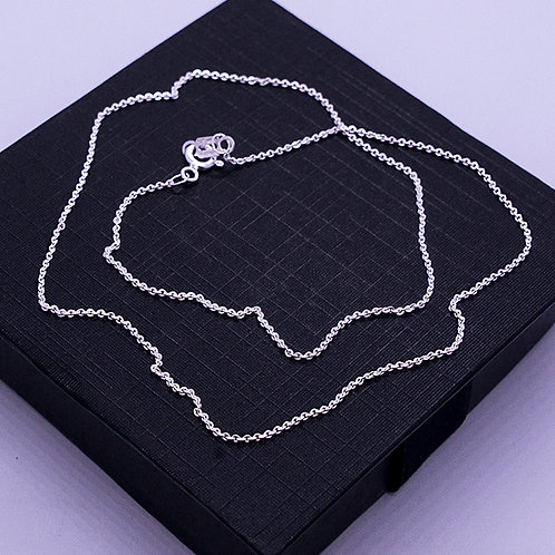 Cable chain necklace | 1.5mm | 40cm