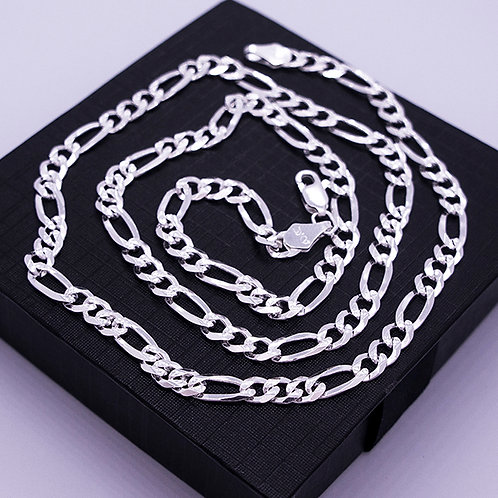 Figaro chain necklace | 5mm | 55cm