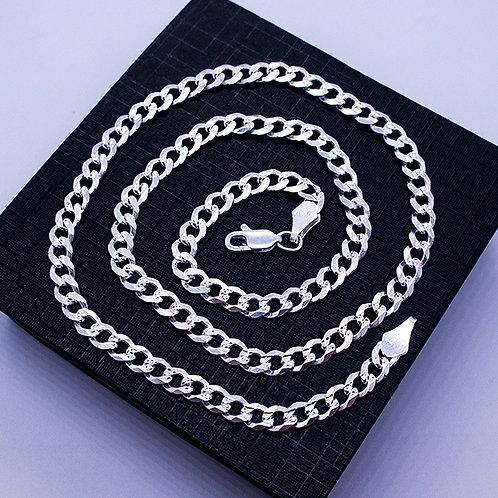 Cuban chain necklace | 5mm | 55cm