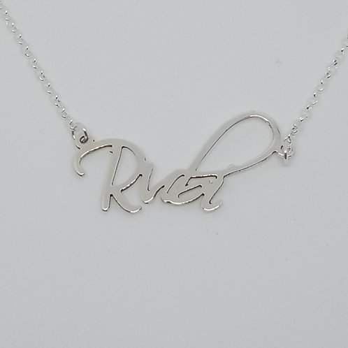 Name necklace | Rubí