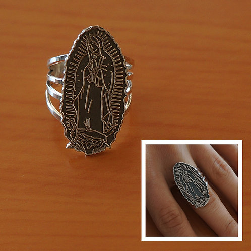Our Lady of Guadalupe ring #5.5