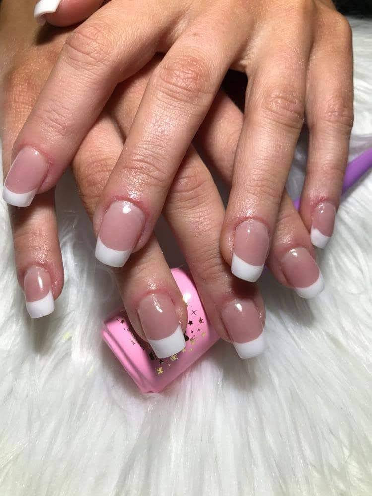 Full Sets of French Nails