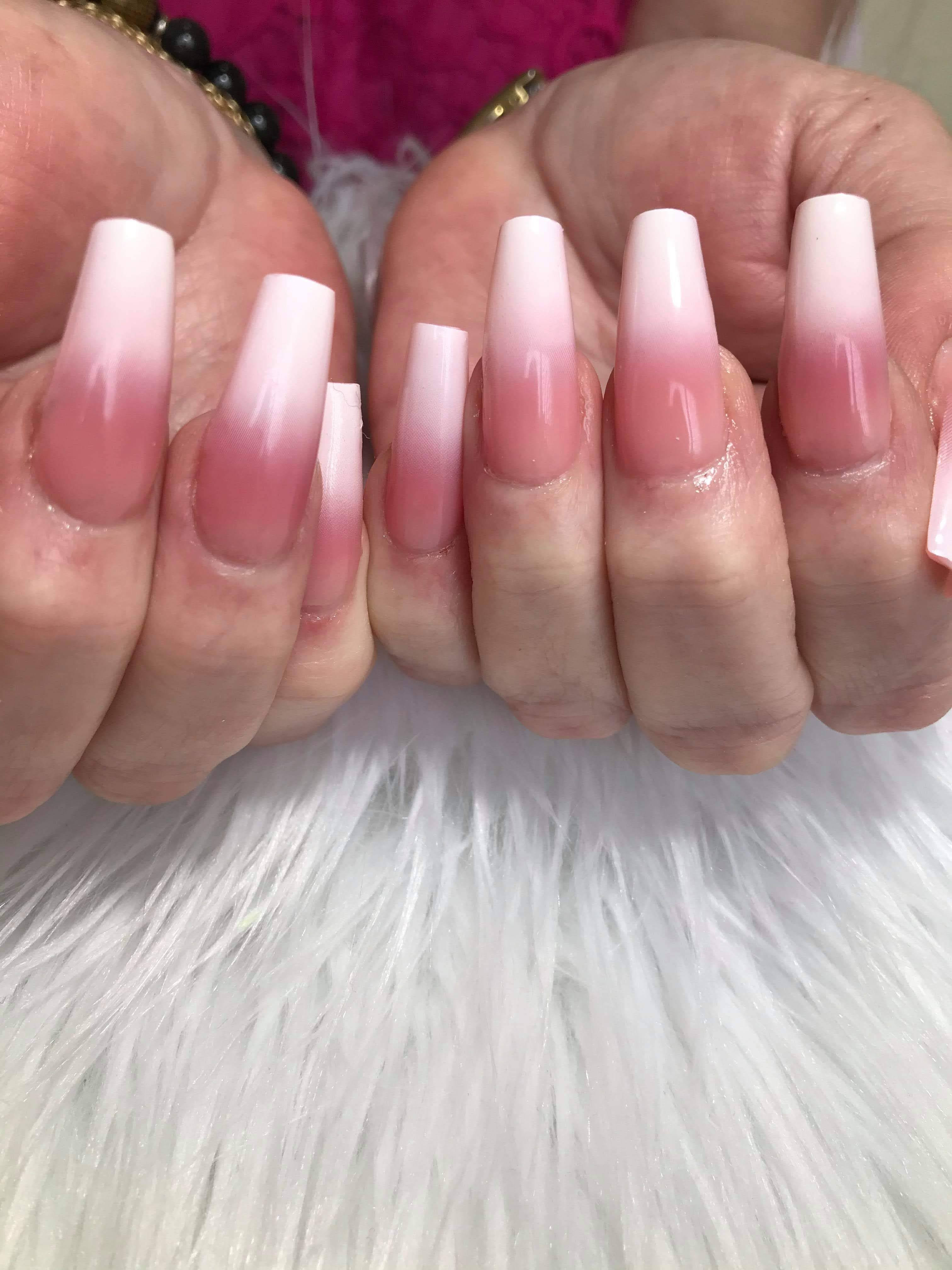 Full Set French Ombre