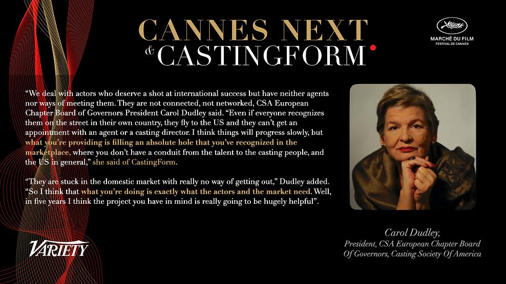 carol dudley csa castingform cannes variety.tiff