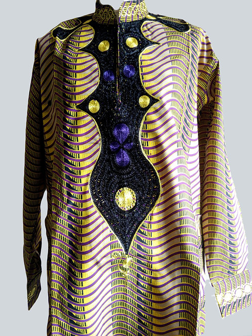 African Print Formal Men's Shirt