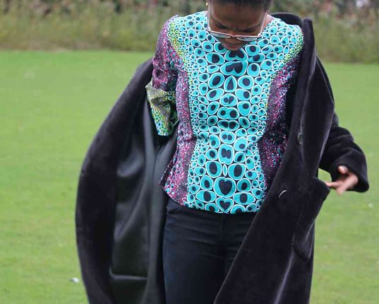 African print colourful clothing