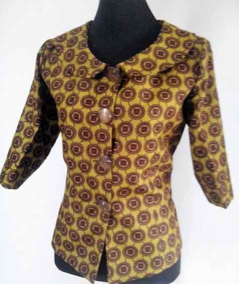 Unique African Print Shirt