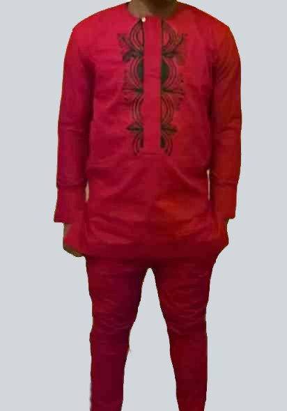 African Print Men's Suit