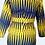 Thumbnail: TDARE African print Ankara yellow dress