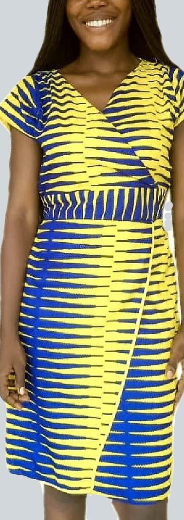 D12 TDARE African print dress