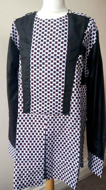 African Print Men Clothing, African Print Men Shirt / Complete Suit
