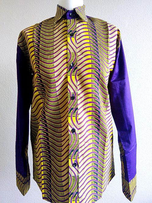 African Print Formal Men's Shirt