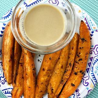 sweet potato wedges, because I'm craving