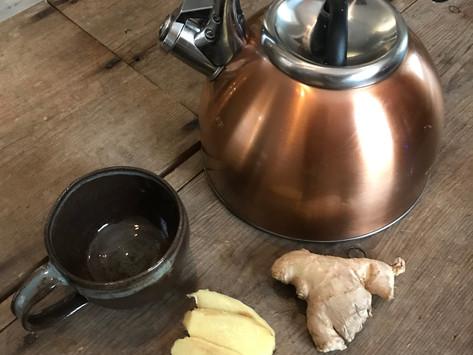 How To Make Healing Ginger Tea