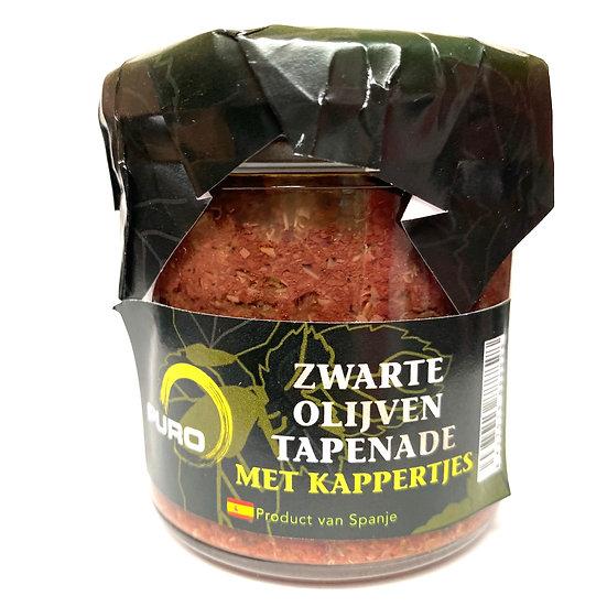 Puro Tapenade zwarte olijven met kappertjes 130 gr