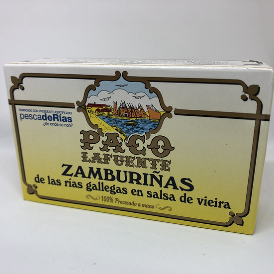 Paco Lafuente Coquilles / Zamburiñas 150gr.