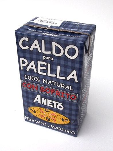 """Aneto Caldo Paella bouillon """"Marinera"""" 1L"""