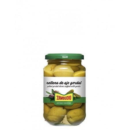 Zambudio olijven met look