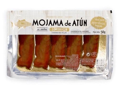 Mojama - gerookte en gedroogde tonijn 50gr