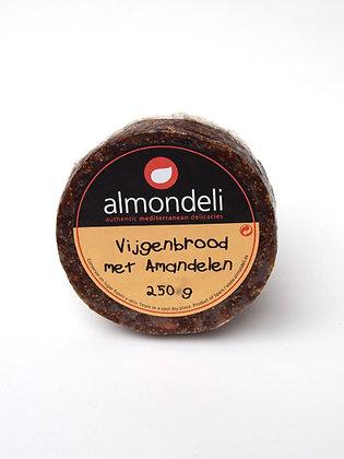 Spaans vijgenbrood met amandelen 250 gr Almondeli