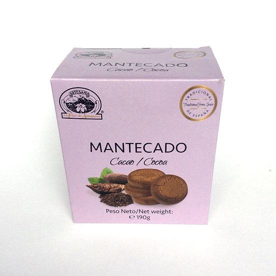 La Flor Antequerra mantecados chocolade 190gr.