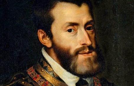 Karel V, Koning van Spanje