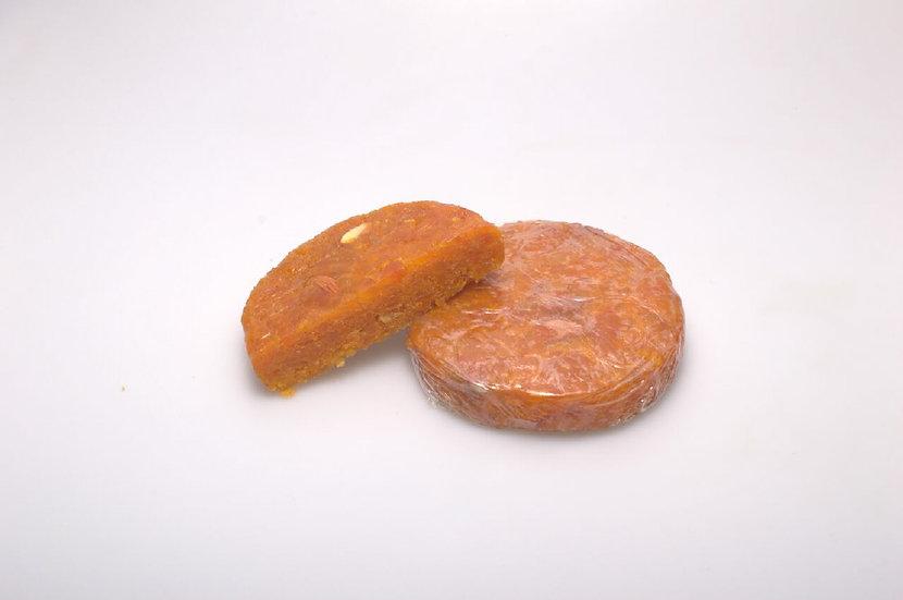 Abrikozenbrood met amandelen 250gr.