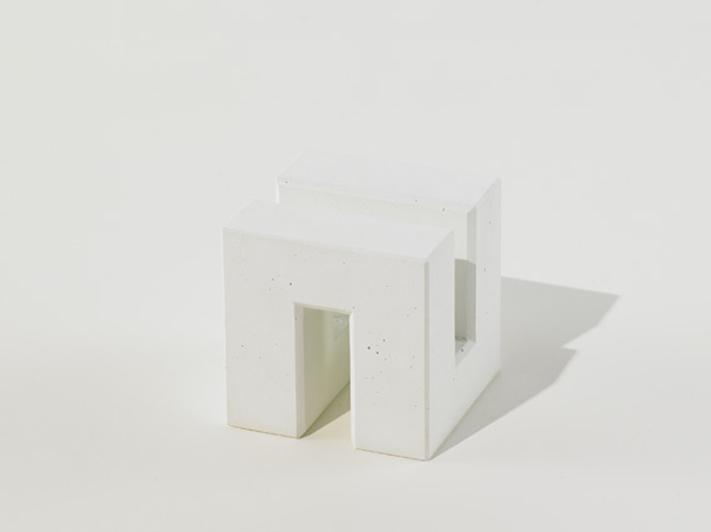 CUTTING BOARD STAND White