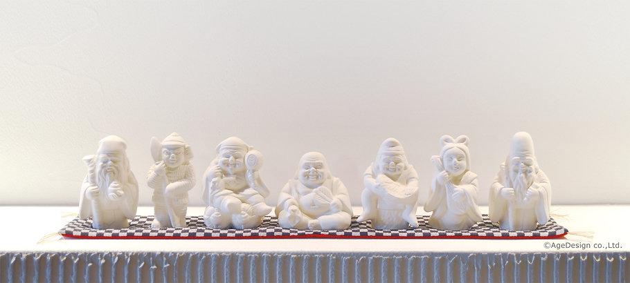 素焼き七福神|7体セット