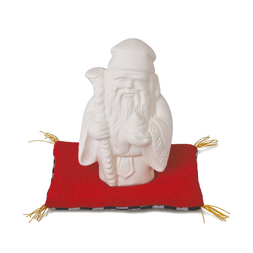素焼き七福神 寿老人