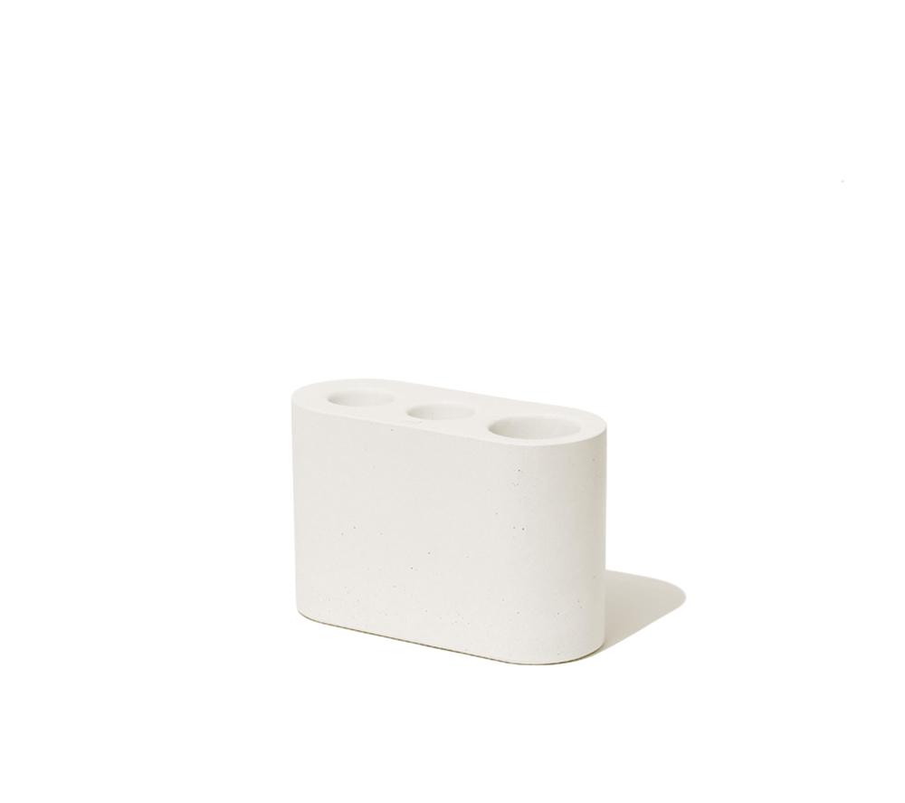 UMBRELLA STAND white