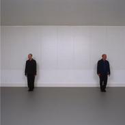 Unframed signed Giclee print, image size 24 x 24 cm £35.00 + p & p. Jonathan Burrows/Matteo Fargion 'Speaking Dance' 2006