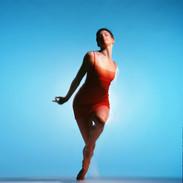 Unframed signed Lambda print image size 41 x 41 cm  £40 + p & p. Rambert Dance Company 1998