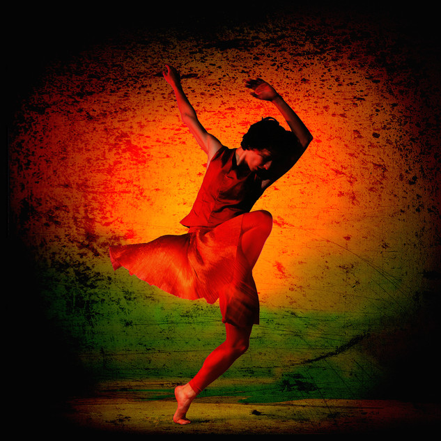 Framed ex exhibition print, image size 40 x 40, stained black ash frame, size 53.5 x 53.5 cm £175.00  Collection only. Richard Alston Dance Company  'Red Run' 1998