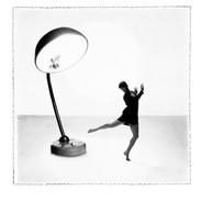 'J'adore et J'e Peux Plus' 1  Le Ballet Du Fargistan  1992.  Framed ex exhibition print, image size 30 x 30 cm, stained black ash frame, size 44 x 44 cm £65.00 Collection only