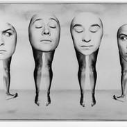 Unframed signed chlorobromide print, image size 19 x 30.5 cm £35.00 + p & p.  The Cholmondeleys 'Cold Sweat' 2