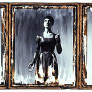 Unframed Giclee print The Cholmondeleys 'Flesh & Blood' 1990 Dancer: Emma Gladstone.  Image size 48 x 20 cm for £225 + p&p