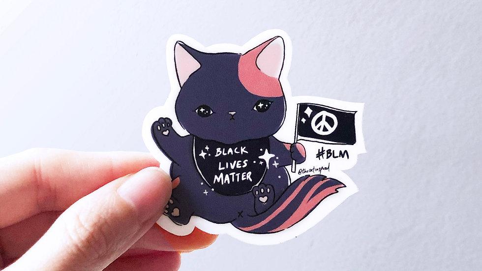 BLM Kitten Sticker