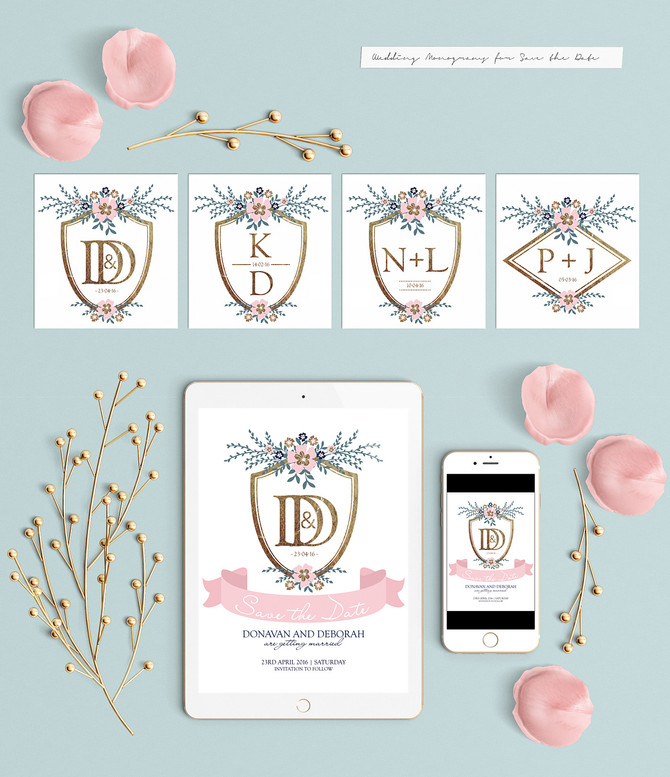A Romantic English Wedding Kit