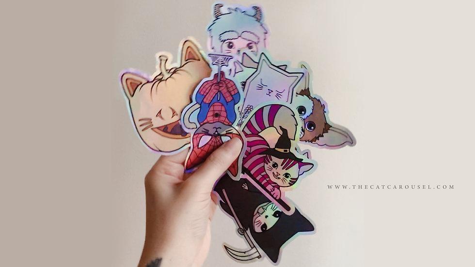 Meowlloween Stickers