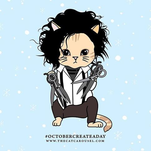 9. Catward Scissorhand