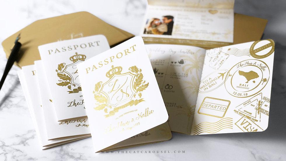 Nellie's Choice - Golden Passport | 100pcs