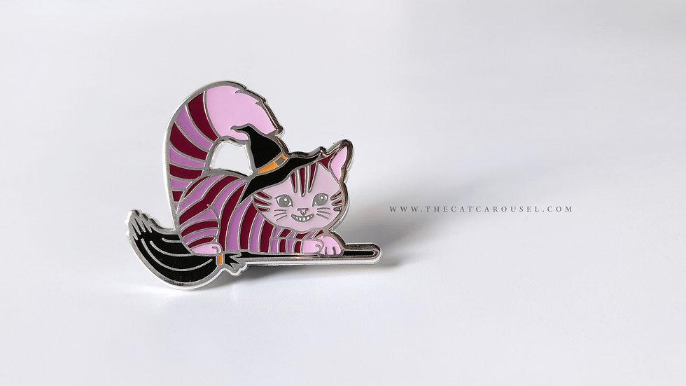 Meowlloween - Cheshire pin