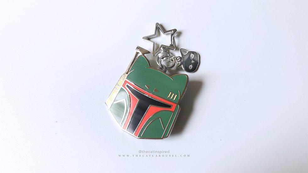 Boba Catt bag charm / keychain