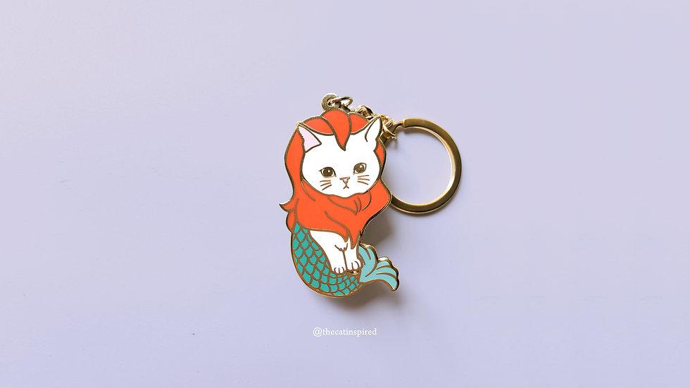 Merlion Cat keychain