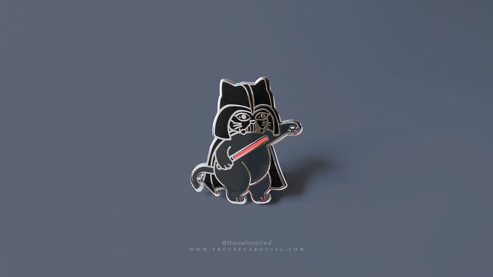 Cat Vader Pin
