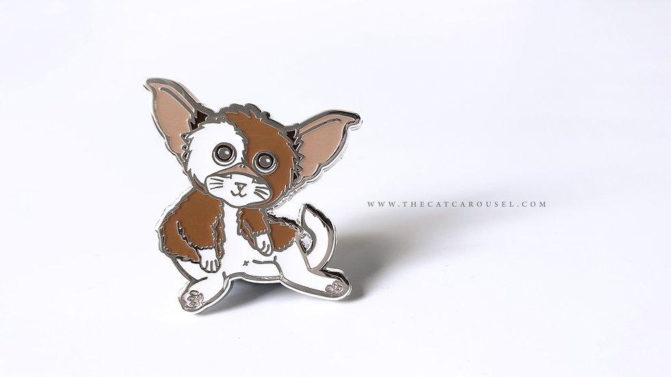 Meowlloween - Gizmo pin