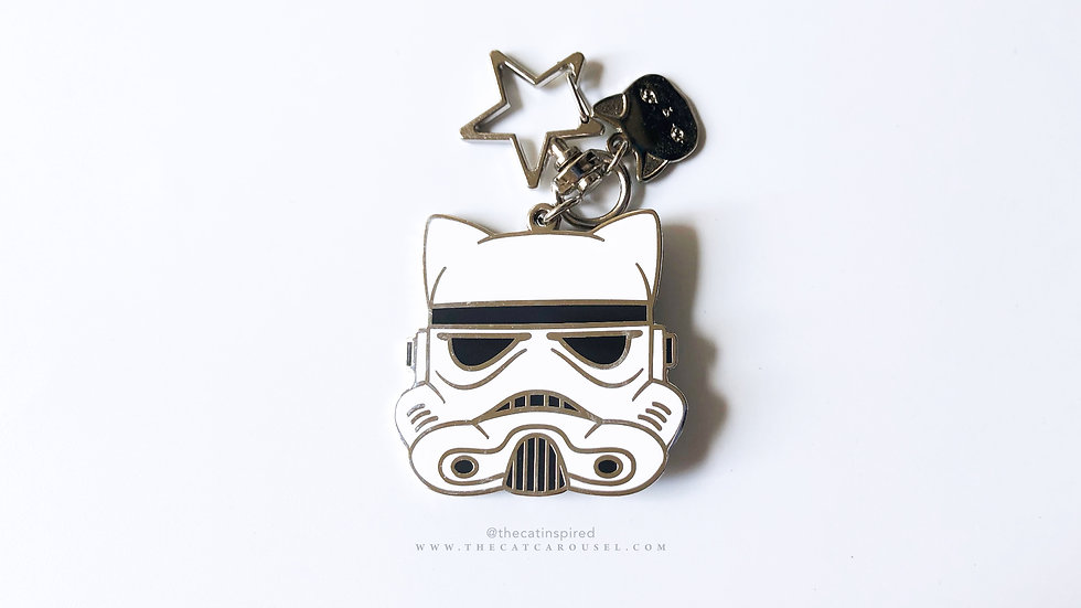Catrooper bag charm / keychain